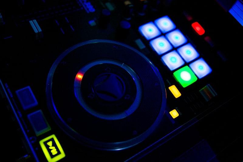 DJ Mischpult bei Venus Celler